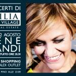 Irene Grandi al Sicilia Outlet Village
