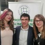 da sx Longo,Di Stefano, Emmanuele