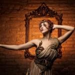 La burlesque performer Giuditta Sin