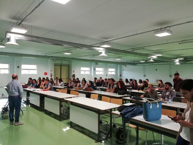 Gli studenti del primo corso di preparazione agli esami di abilitazione per paesaggisti e pianificatori