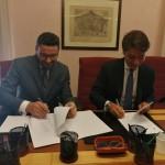 Il direttore Minutoli e il presidente Balestrazzi