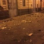 Crolli a Biancavilla e Santa Maria di Licodia (foto Ciak Telesud, emittente di Paternò)
