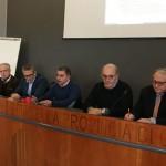 da sx Bazzano, Di Mauro, Milone, Amaro e Nicolosi