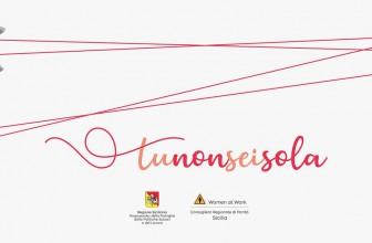 #TUNONSEISOLA, IL FILO CHE UNISCE LA RETE LUNEDÌ VIA ALLA SETTIMANA SICILIANA CONTRO IL FEMMINICIDIO