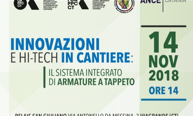 Edilizia, innovazioni in cantiere: a Catania presentazione dell'armatura del futuro