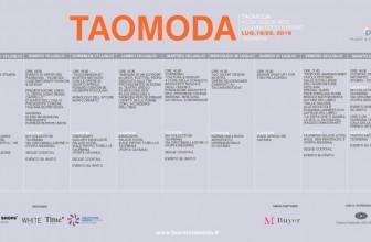 TAOMODA 2016, CONFERENZA STAMPA DI PRESENTAZIONE