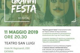 «FACEMU GRANNI FESTA» PER OFFRIRE ASSISTENZA SANITARIA AI PIÙ BISOGNOSI