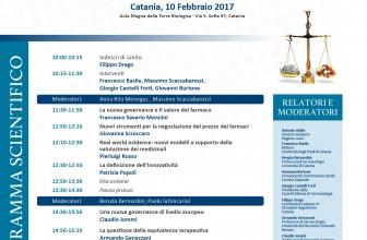 FARMACEUTICA, DA CATANIA LE PROPOSTE PER UNA NUOVA GOVERNANCE IN ITALIA