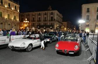 """Automobilismo d'epoca, gran finale """"Raid dell'Etna"""" a Catania"""