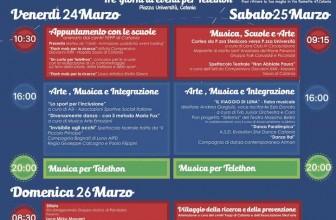 """""""FESTA DI PRIMAVERA"""" TELETHON: IL PROGRAMMA DEGLI EVENTI"""