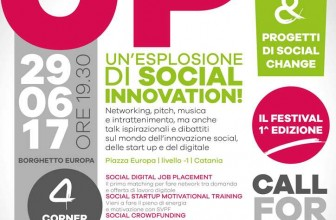 FESTIVAL STRAIGHT UP, A CATANIA UN'ESPLOSIONE DI SOCIAL INNOVATION