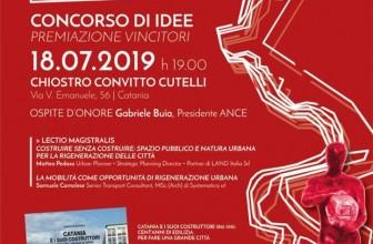 """""""PREMIO D'ARCHITETTURA ANCE CATANIA"""": ALLA PREMIAZIONE PRESENTE IL PRESIDENTE NAZIONALE GABRIELE BUIA"""