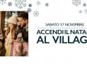 Natale da favola al Sicilia Outlet Village con l'albero più alto dell'Isola