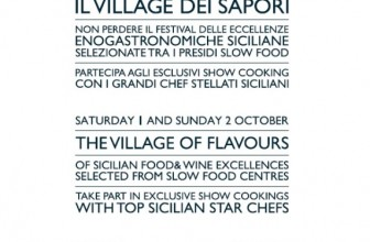 WEEKEND FIRMATO SLOW FOOD A SICILIA OUTLET VILLAGE