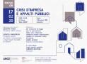 CRISI D'IMPRESA E APPALTI PUBBLICI: COMMERCIALISTI E COSTRUTTORI A CONFRONTO