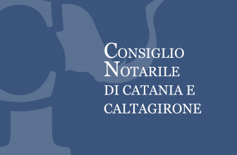 COMUNICAZIONE DEL CONSIGLIO NOTARILE DI CATANIA E CALTAGIRONE