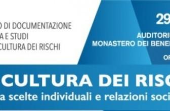 CULTURA DEI RISCHI, PRESENTAZIONE  DEL CENTRO DI DOCUMENTAZIONE, RICERCA E STUDIO
