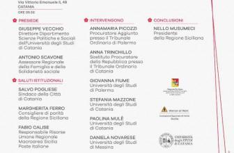 #TUNONSEISOLA, EVENTO CONCLUSIVO ANALISI MULTIDISCIPLINARE SUL FEMMINICIDIO